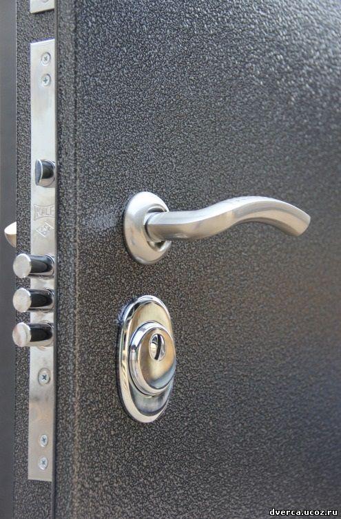 окраска металлическая дверь